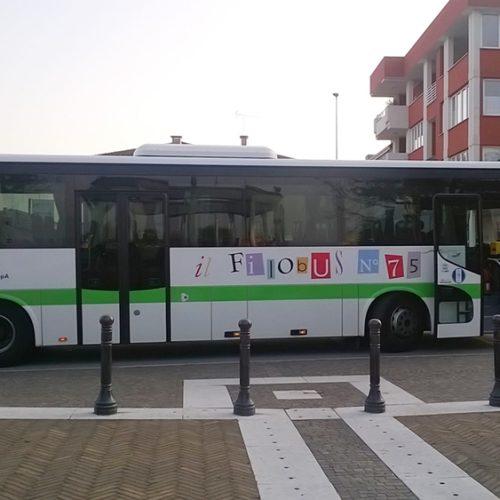 I viaggi a bordo de Il Filobus N°75 con 0432