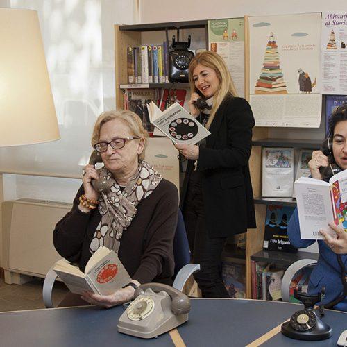 Le favole al telefono a cura dei bibliotecari