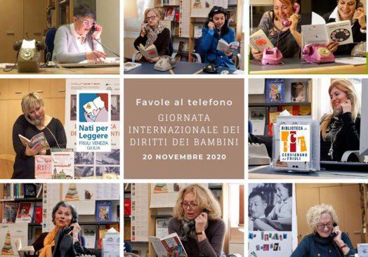 Favole al telefono per tutti con la Biblioteca di Cervignano del Friuli
